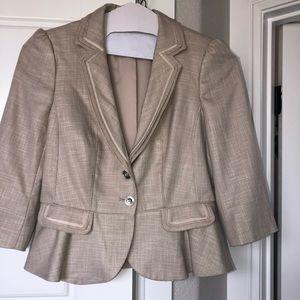 WHBM dress blazer